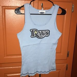 Tampa Bay Rays Tank with Rhinestones